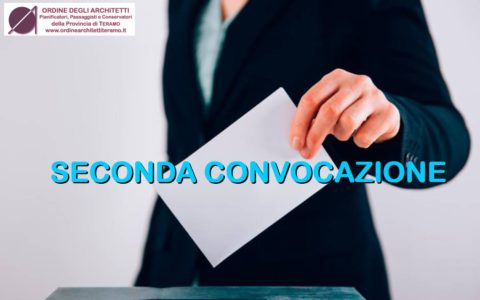 SECONDA CONVOCAZIONE